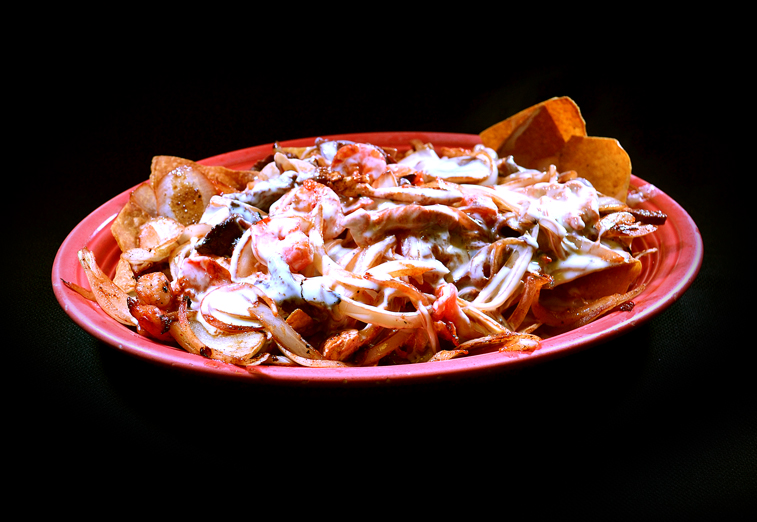 Grilled Fajitas Nachos
