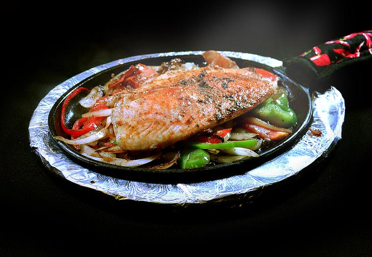 Fish Fajitas