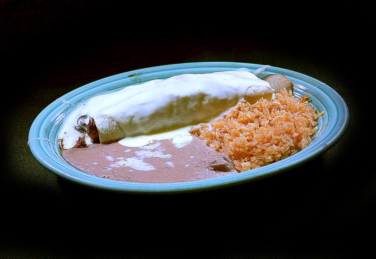 #9 Texas Burrito